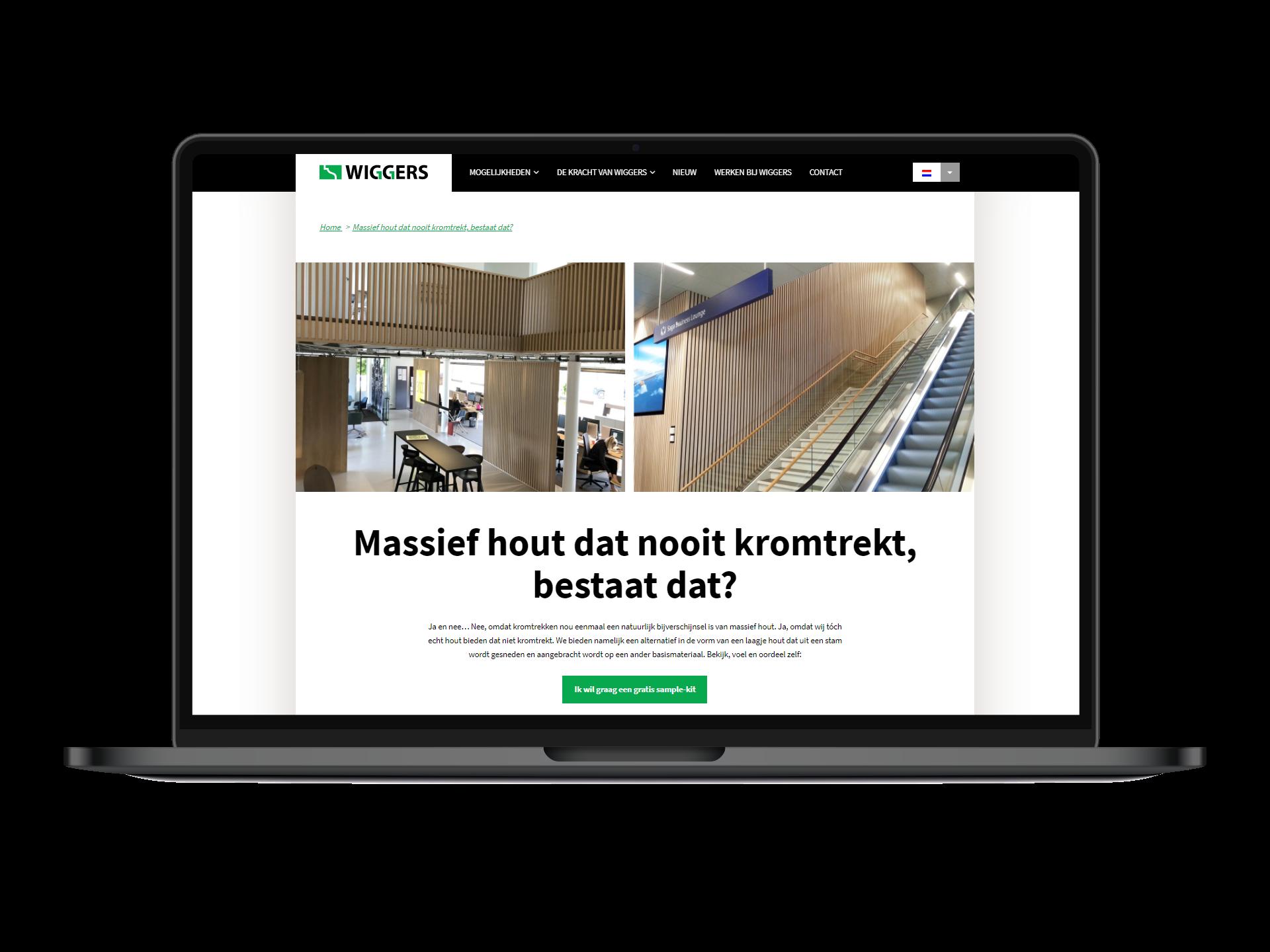 Slimme content marketing levert Wiggers nieuwe klanten op!
