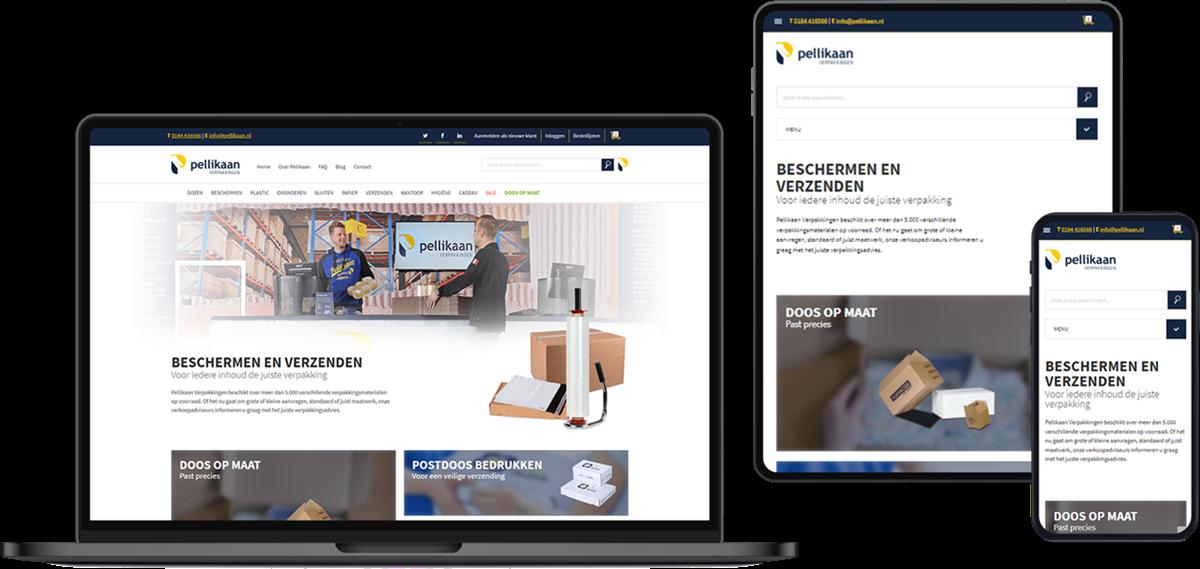 NopCommerce webshop van Pellikaan