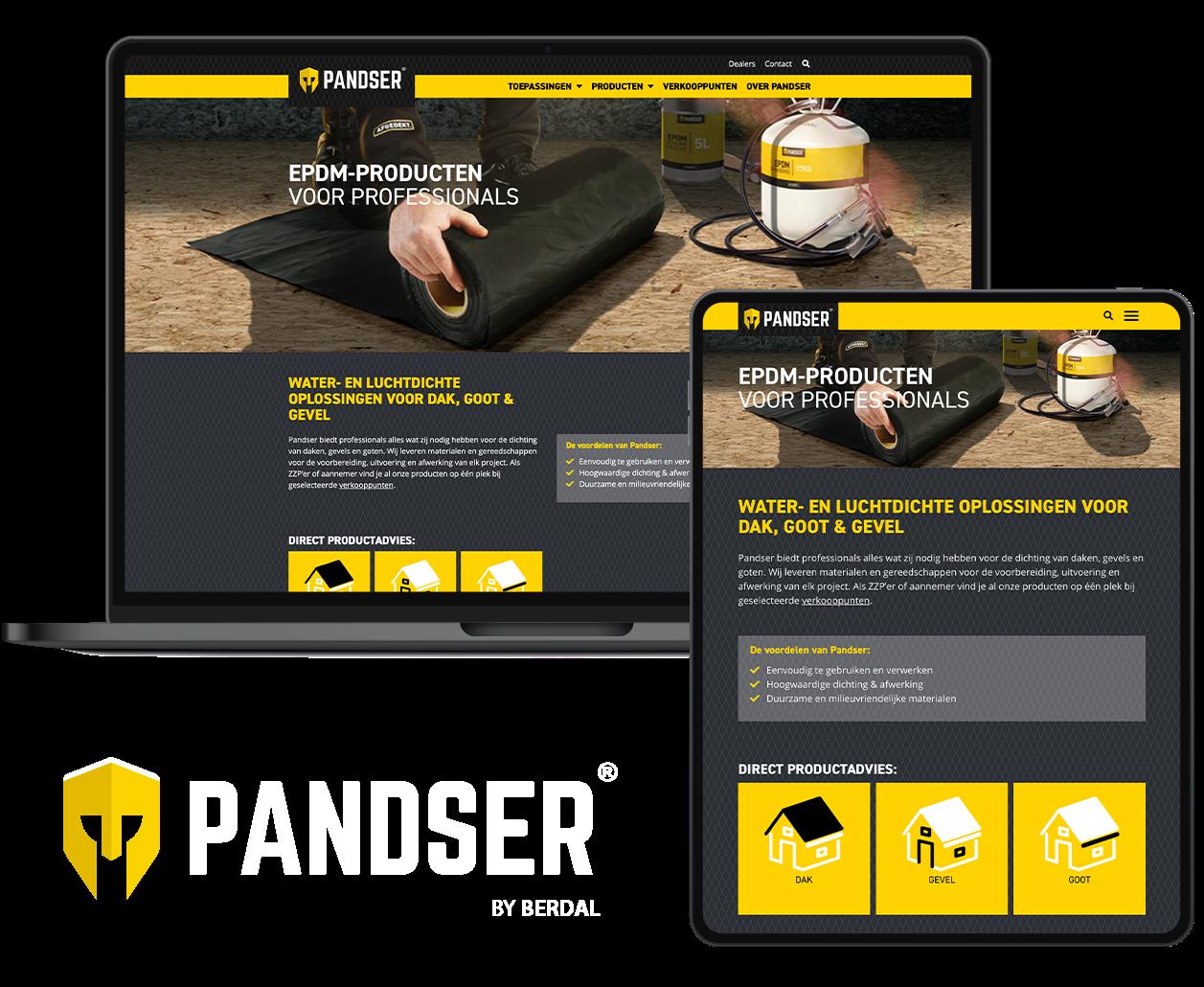 Pandser website